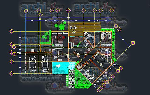 download-autocad-cad-dwg-file-room-house-habitation