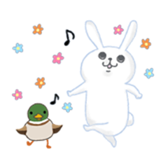 Bunny and Duck