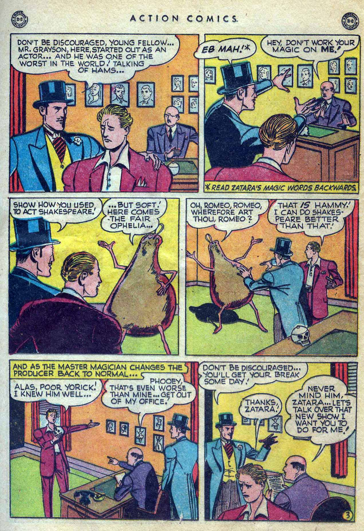 Read online Action Comics (1938) comic -  Issue #131 - 37