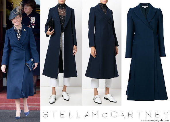 Countess Sophie wore STELLA MCCARTNEY Vivienne Coat