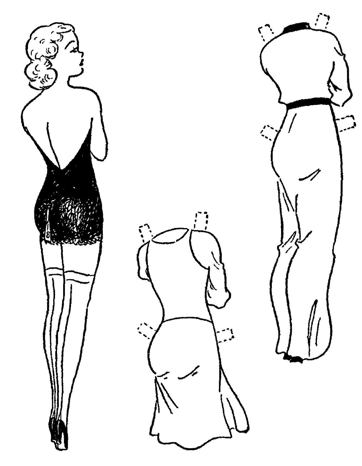 Mostly Paper Dolls Too!: BOOTS Paper Dolls from 1945.
