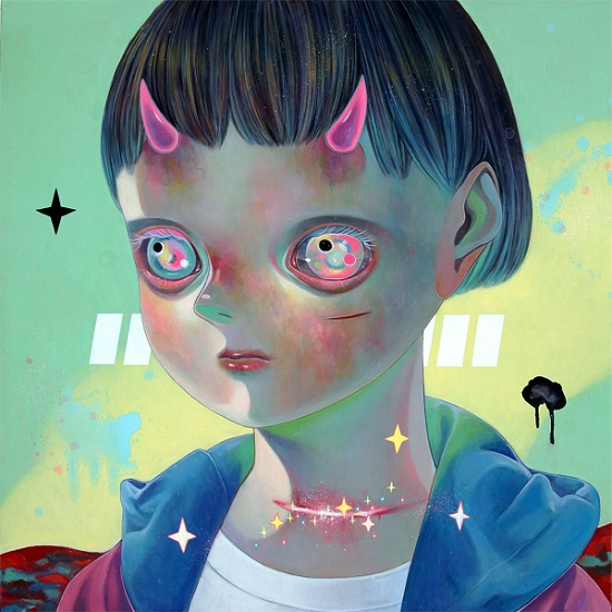 "obras de arte, pintura, pop art, imagenes tristes | ""Whereabouts of God #29"" by Hikari Shimoda"