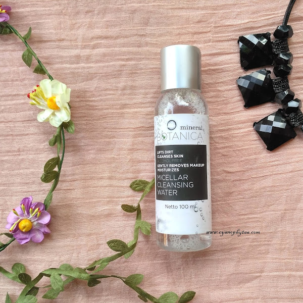 Review Mineral Botanica Micellar Cleansing Water