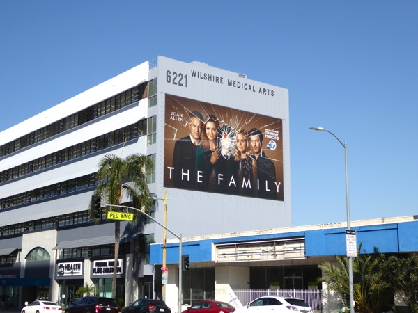 The Family giant billboard