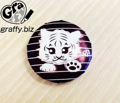 Badge White Tiger 白虎