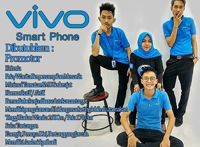 Lowongan Kerja Vivo Smart Phone 2017