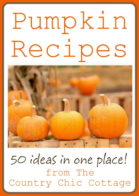 Pumpkin Recipes -- come get 50 ideas for pumpkins recipes all in one place!