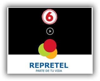 canal 6 repretel, canal 6 por internet en vivo