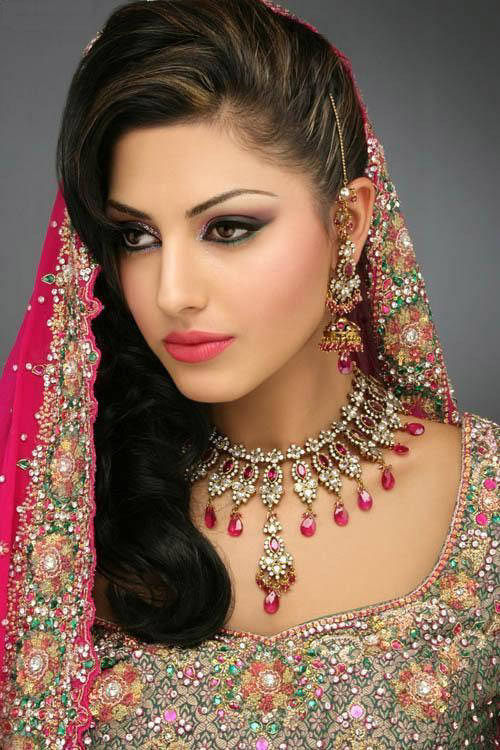 The Indian Make-up and Jewelery (80 Photos)