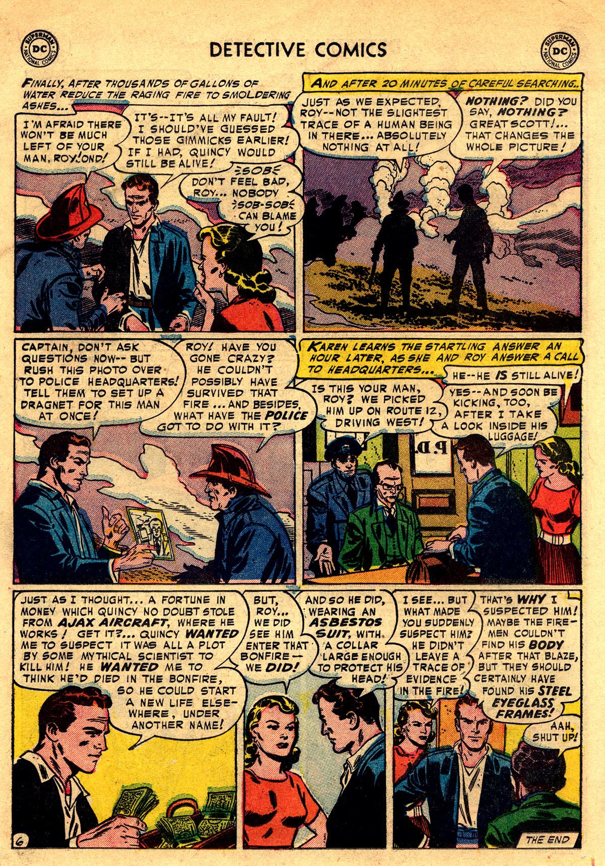 Read online Detective Comics (1937) comic -  Issue #203 - 22