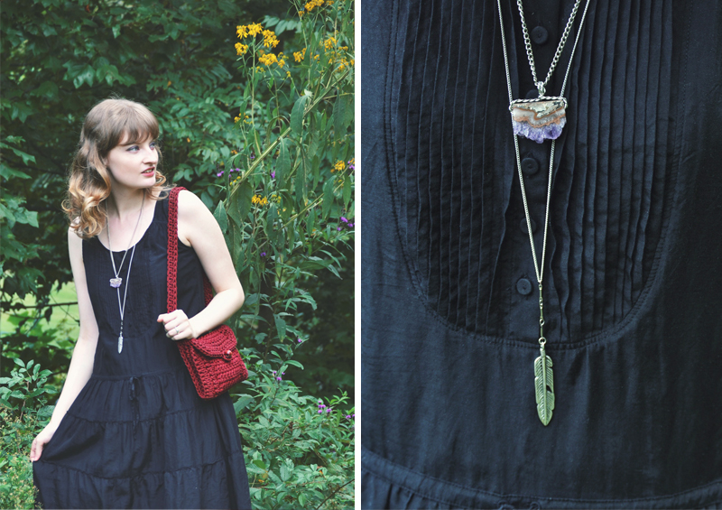 The Flying Clubhouse: Black Silk and Macramé