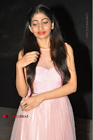 Actress Nidhisha Reddy Pos in Beautiful Pink Dress at Virus Telugu Movie Audio Launch .COM 0005.JPG