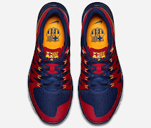 Nike Free Trainer Fc Barcelona Shoes Revealed - Footy