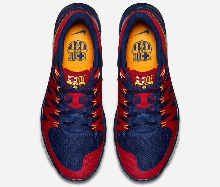 ... barcelona edition 0ce0f 95e42 get the nike free trainer 5.0 barça  edition retails at 130 euro 100 gbp and is ... 3aeadbc9044