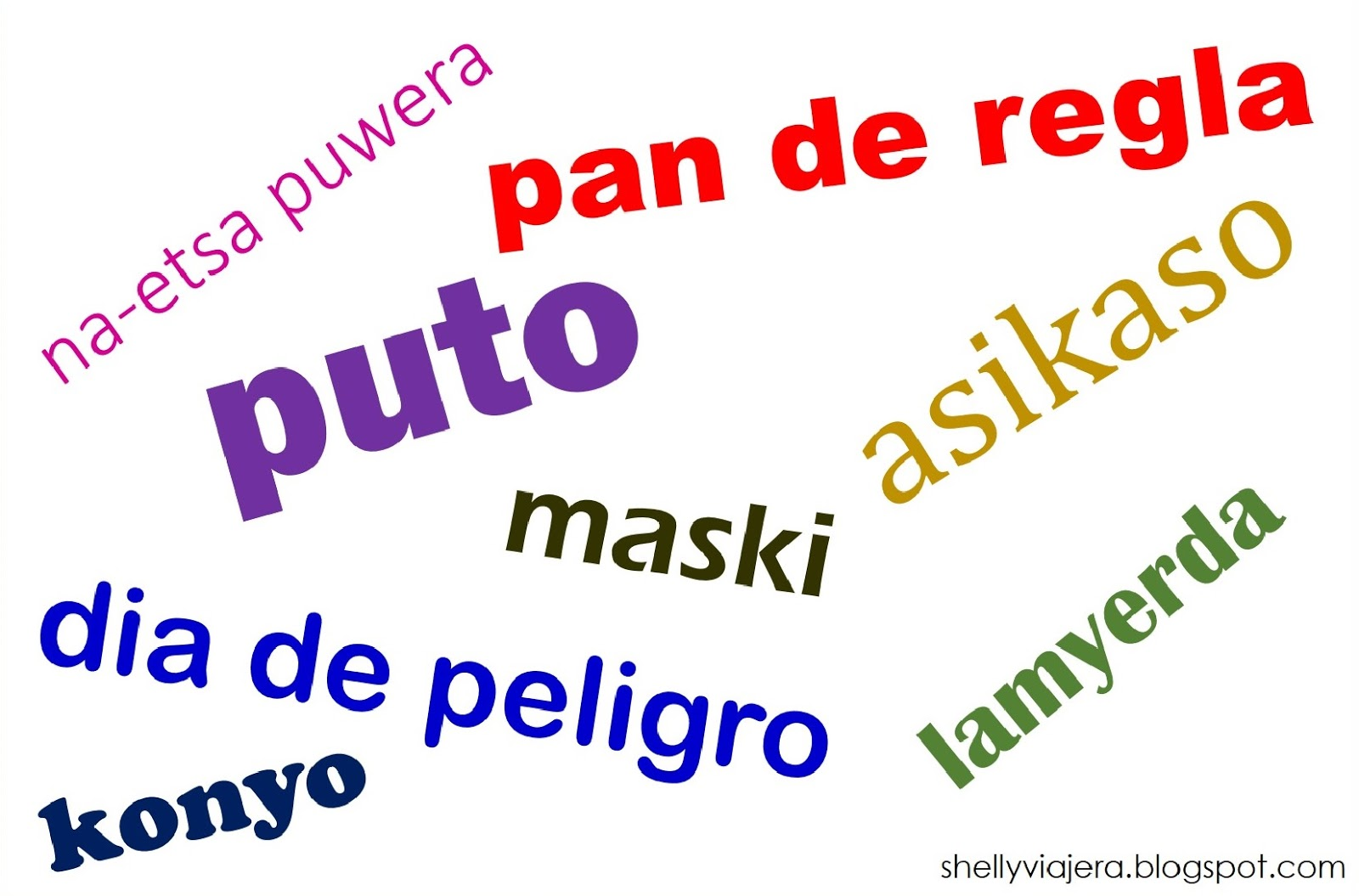 Filipino Phrases Borrowed from Spanish that You May Find