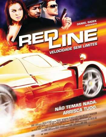 Poster Of Redline 2007 Hindi Dual Audio 400MB BRRip 720p ESubs HEVC Free Download Watch Online downloadhub.net