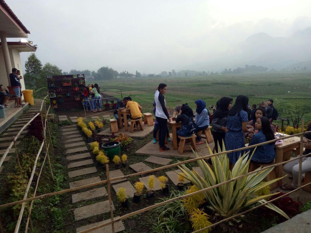 Cafe Sawah Rest Area Instagramable Di Pujon Kidul Malang Travel