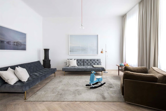Дизайн-проекты. Квартира в стиле венской классики, модернизированная для современного времени