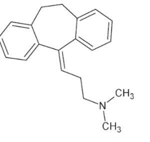 Amitriptyline structure