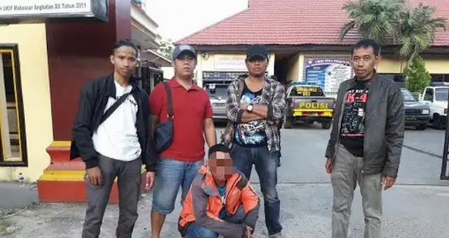 Melarikan Diri ke Toraja Habis Tikam Warga Sabbang, Pelaku Diringkus di Toraja
