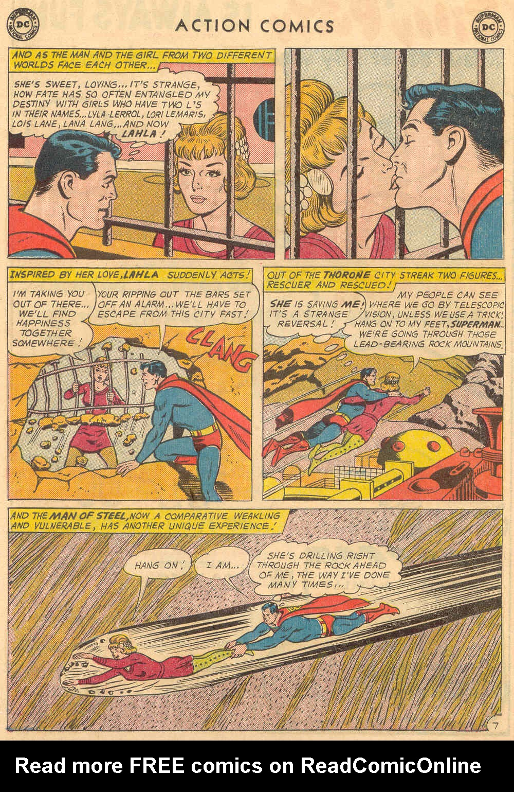 Read online Action Comics (1938) comic -  Issue #321 - 10