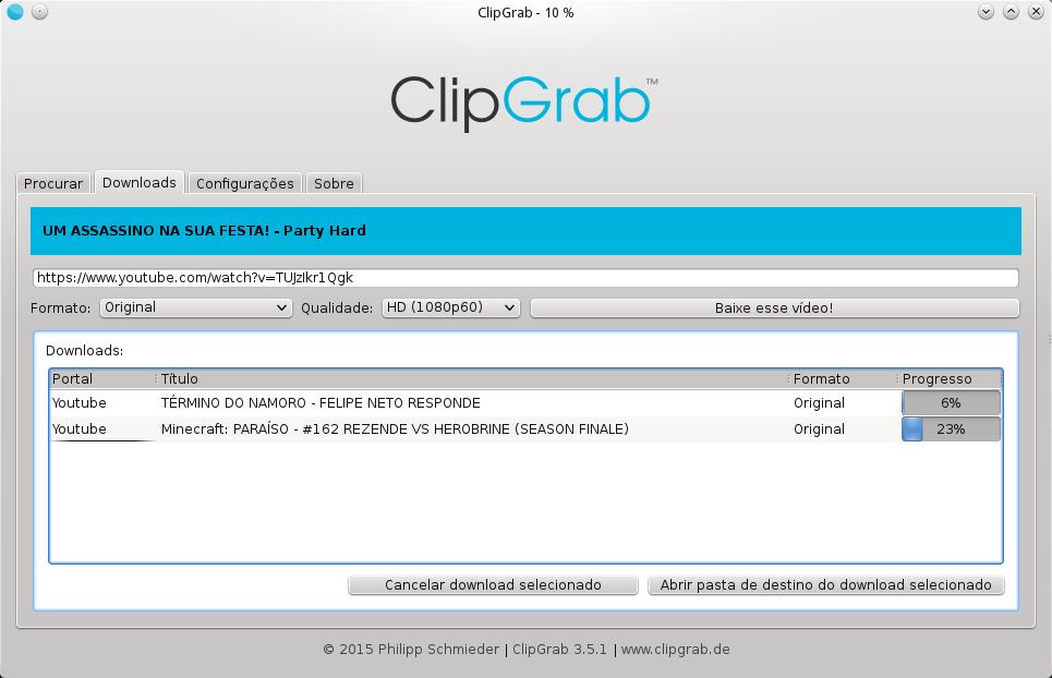 Instale o ClipGrab e baixe vídeos do YouTube no Ubuntu
