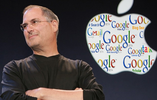7 Curiosidades sobre o Google -  Steve Jobs reclamou da cor do O no logo do Google