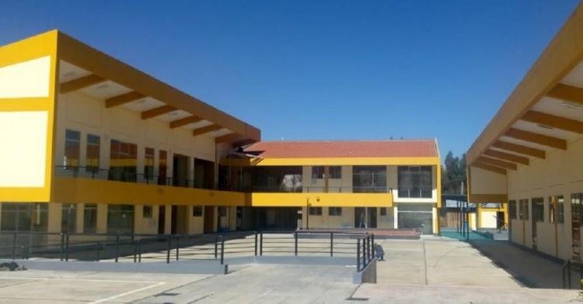 PRONIED: Inauguran remodelada IE Pedro Tumialán Achachau en la región Junín - www.pronied.gob.pe