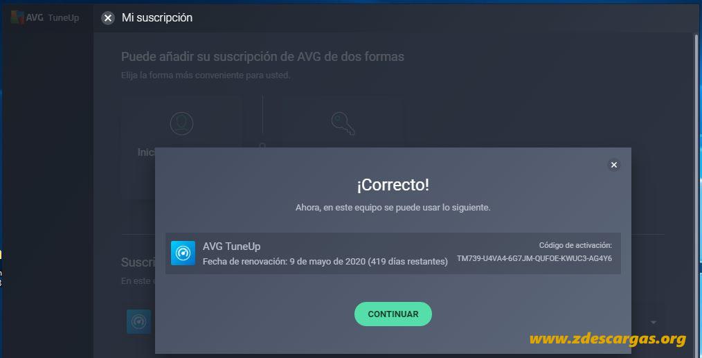 AVG TuneUp 2019 Full Español