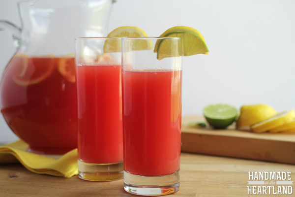 Watermelon Lemon-Limeade Recipe