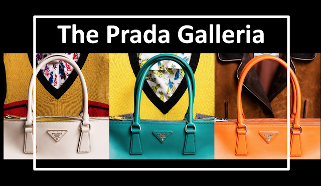 Prada Reinterprets the Iconic Galleria Bag