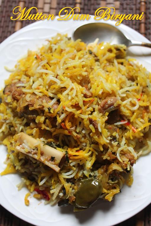 Easy Mutton Dum Biryani Recipe Lamb Biryani Recipe Yummy Tummy