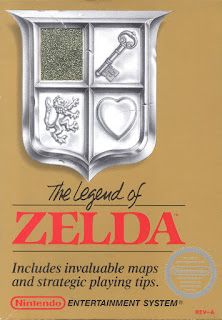 Portada videojuego The Legend of Zelda - NES
