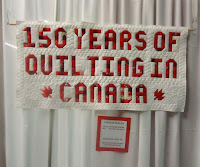 150 years of quilting in Canada exhibit