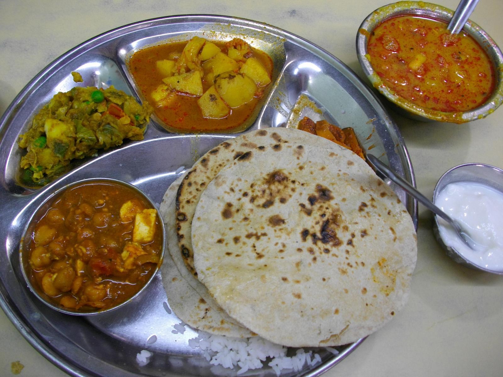 Real Indian Food Menu
