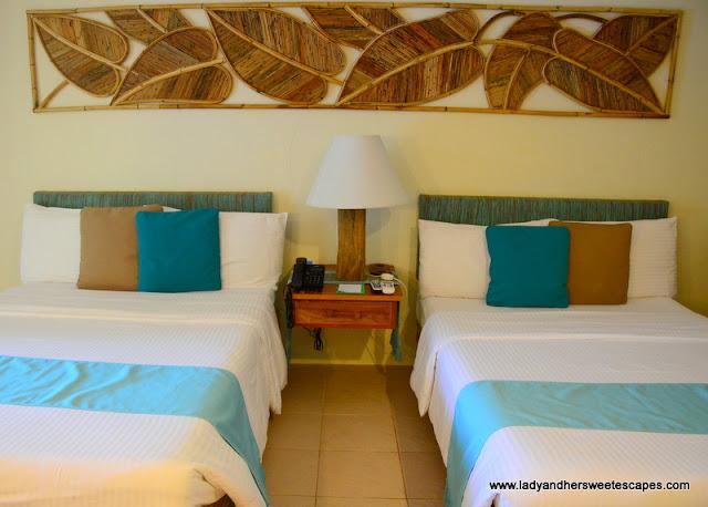 Bluewater Maribago deluxe room