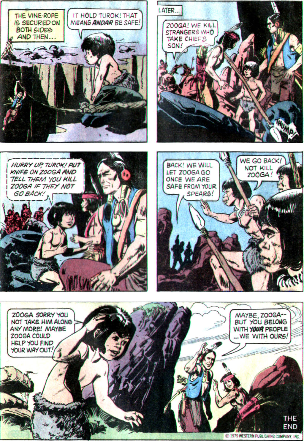 Read online Turok, Son of Stone comic -  Issue #122 - 33