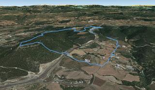 Recorregut: Cal Monjo-Puig d'Aguilera (El repte dels 100 cims)