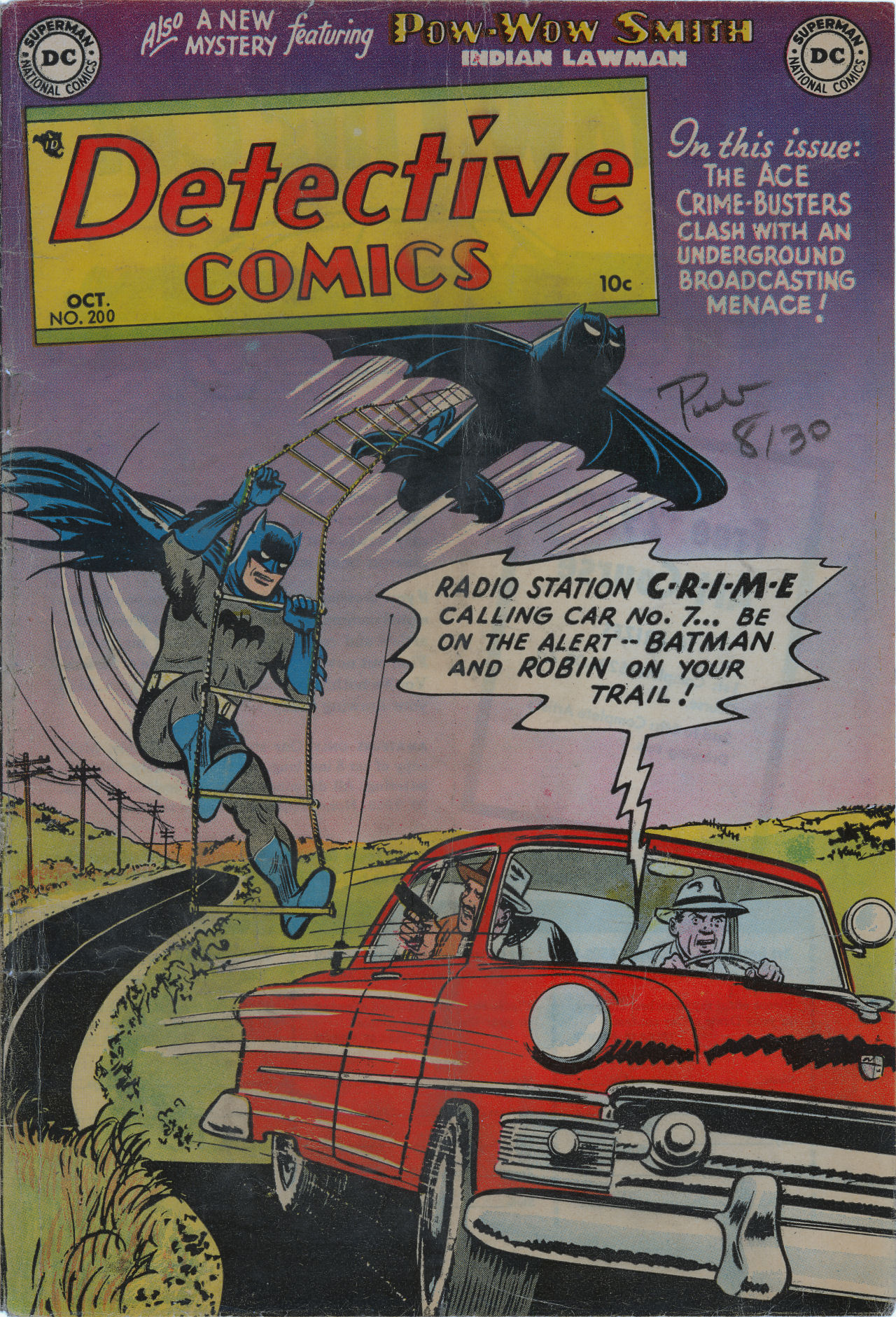 Read online Detective Comics (1937) comic -  Issue #200 - 2