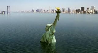 Científicos aseguran que cada dia esta subiendo mas el nivel del mar.