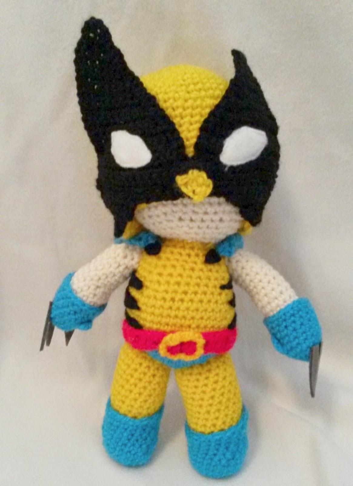 Wolverine Minion PDF Pattern Crochet for Amigurumi Doll Plush ... | 1600x1165