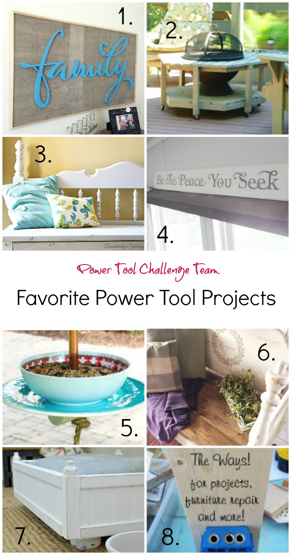 Power tool Challenge projects, MyLove2Create