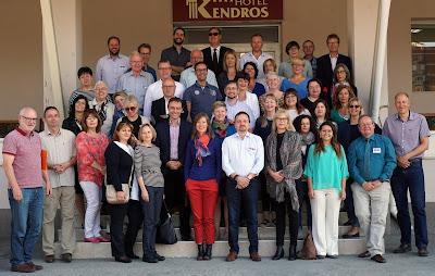 Foto de grupo dos participantes nesta Assembleia Geral, levada a cabo em Plovdiv, na Bulgária.
