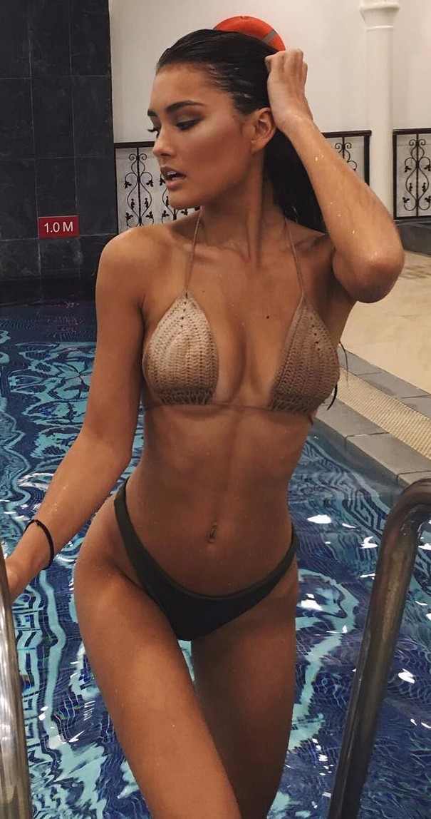 crochet bikini is everything