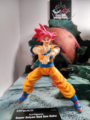 S.H.Figuarts Goku God