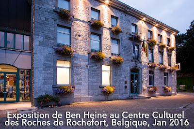 Exposition de Ben Heine au Centre Culturel des Roches de Rochefort 2016