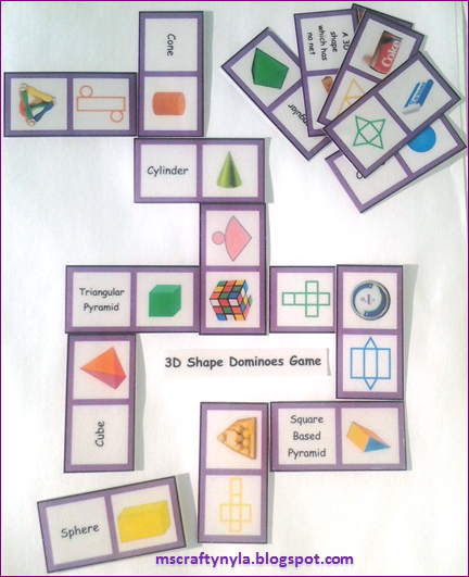 Sorting 3d Shapes Venn Diagram Software For Wiring Diagrams Nyla's Crafty Teaching: 2d & Shape Games, Activities And Printables