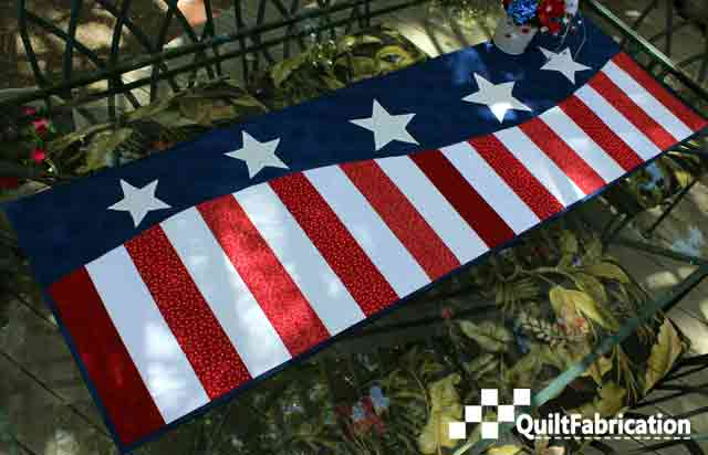 Patriotic Wave by QuiltFabrication