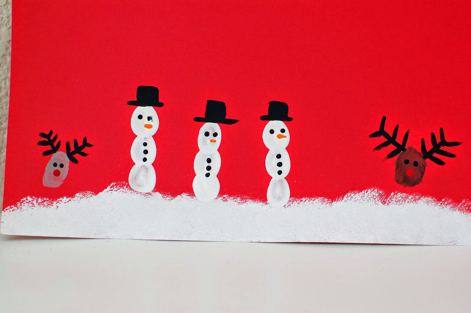 Kids Christmas Art Projects