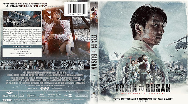 Train To Busan Bluray Cover